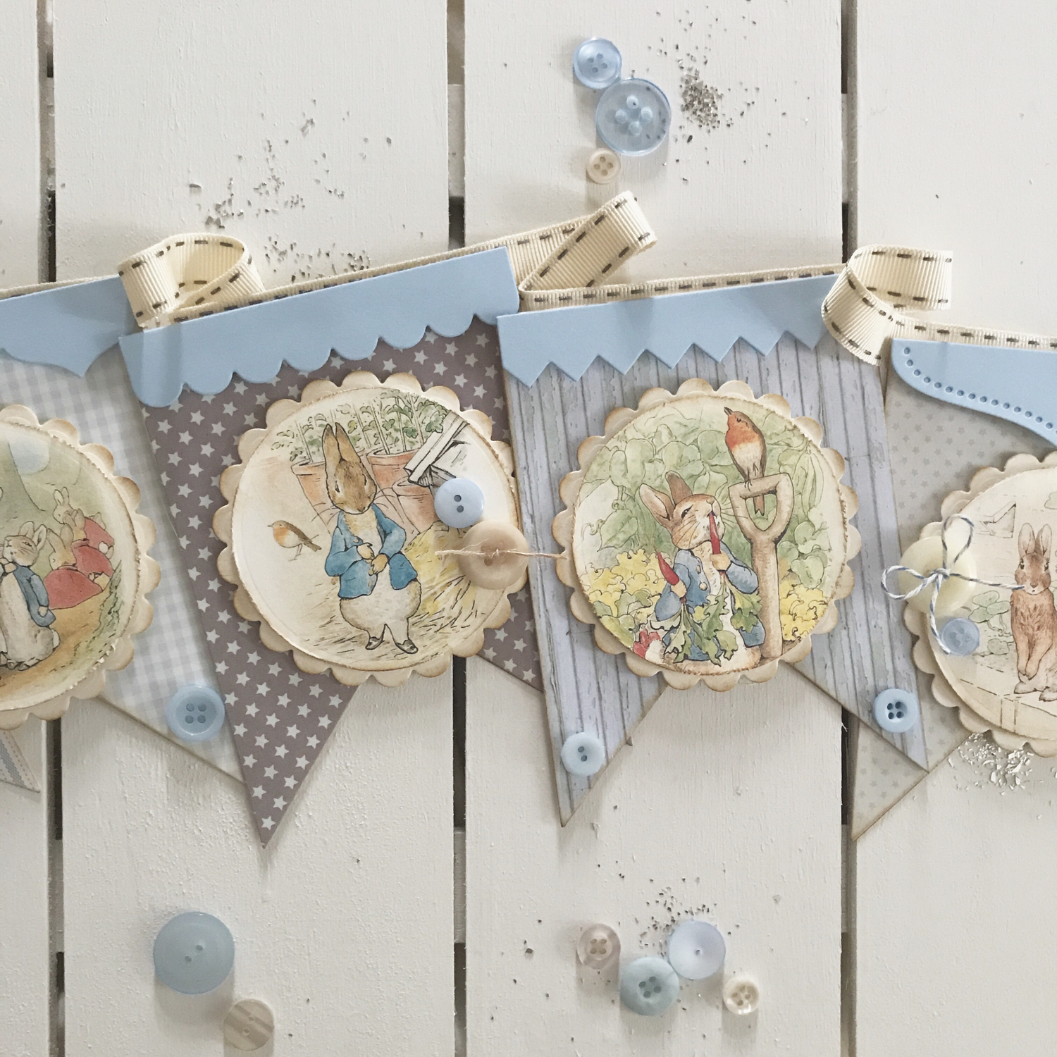 Beatrix Potter Collection ~ Peter Rabbit Bunting