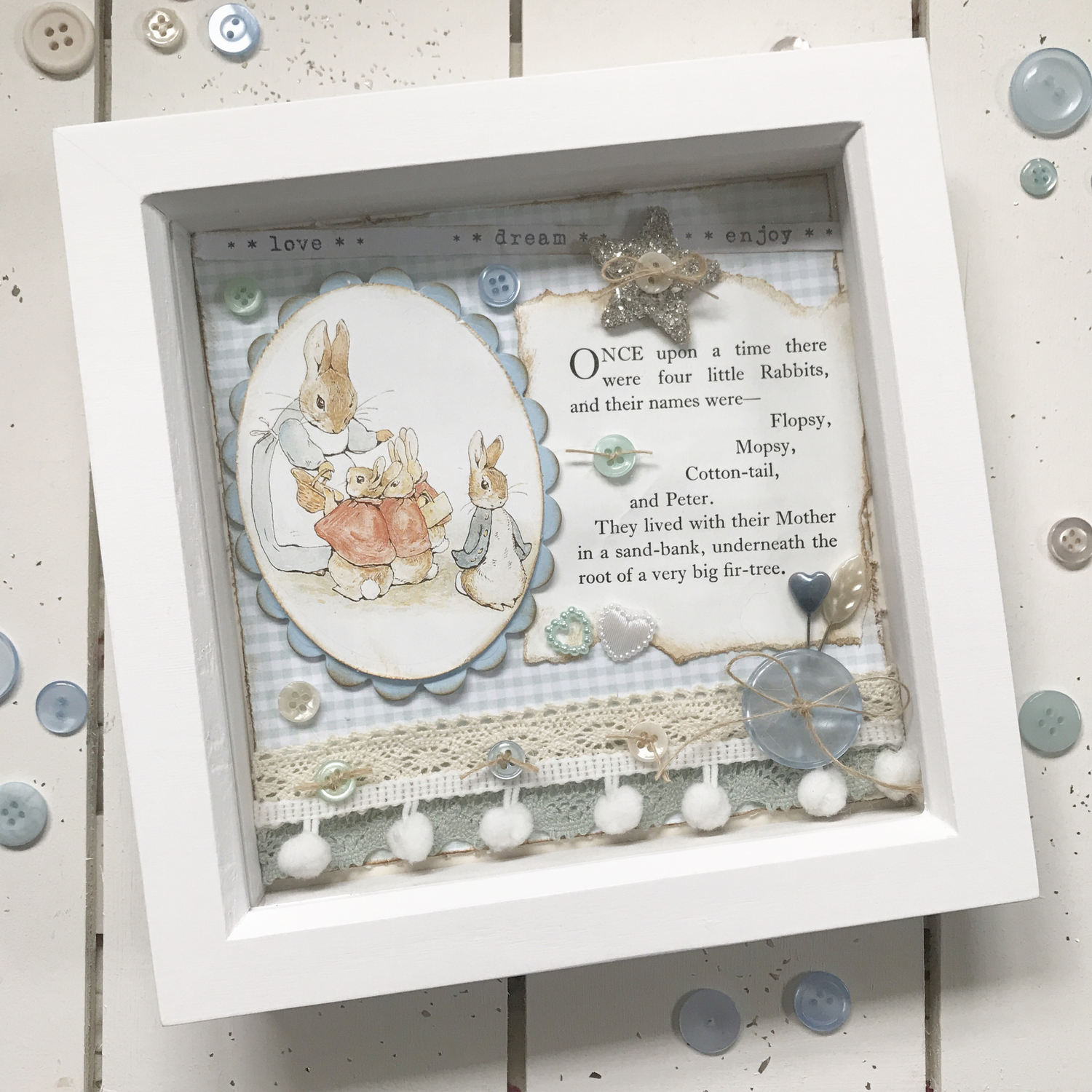 Beatrix Potter Collection ~ Small Box Frame