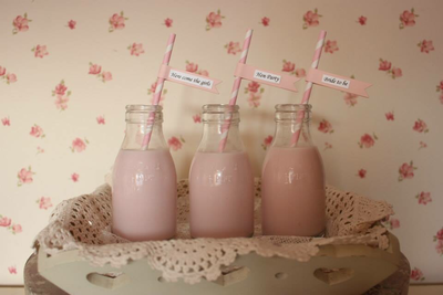 Hen Party Straws with Flags