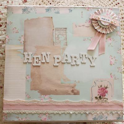 Hen Party Keepsake Box ~ Large