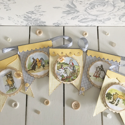 Pooh Bear Collection ~ Bunting