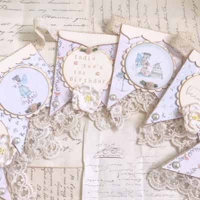 Enchanted woodland collection bunting