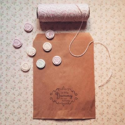 Sweet/treat/candy Paper Bags ~ Pack of 25