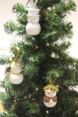Snow Lady Christmas Tree Decoration