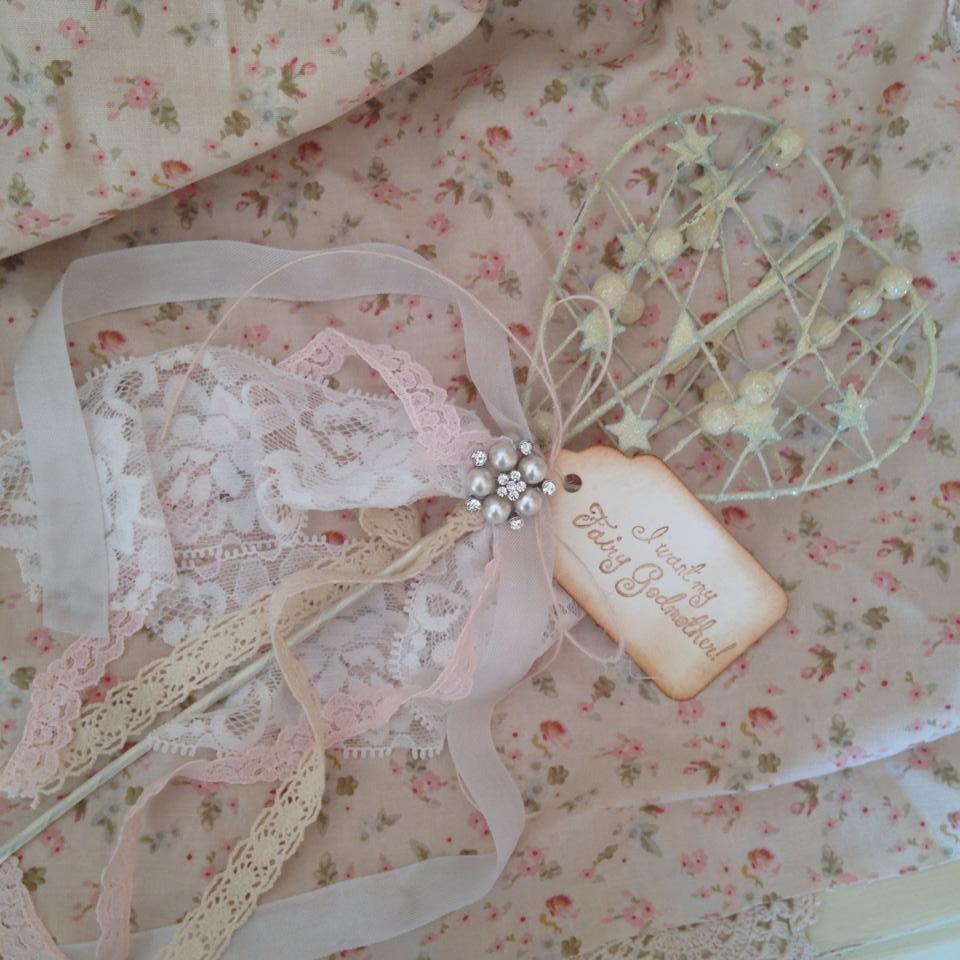 Fairy Godmother Decorative Wand