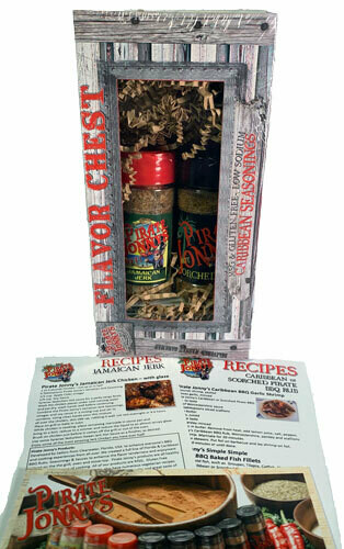 Pirate Jonny's Jerk-HOT & Scorched Gift Set