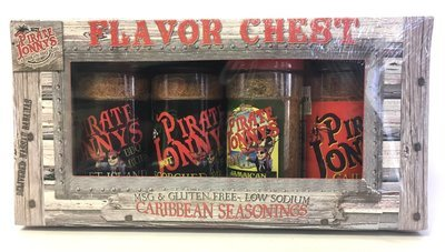Flavor Chest of Seasonings - 4 Pack - Small Bottles