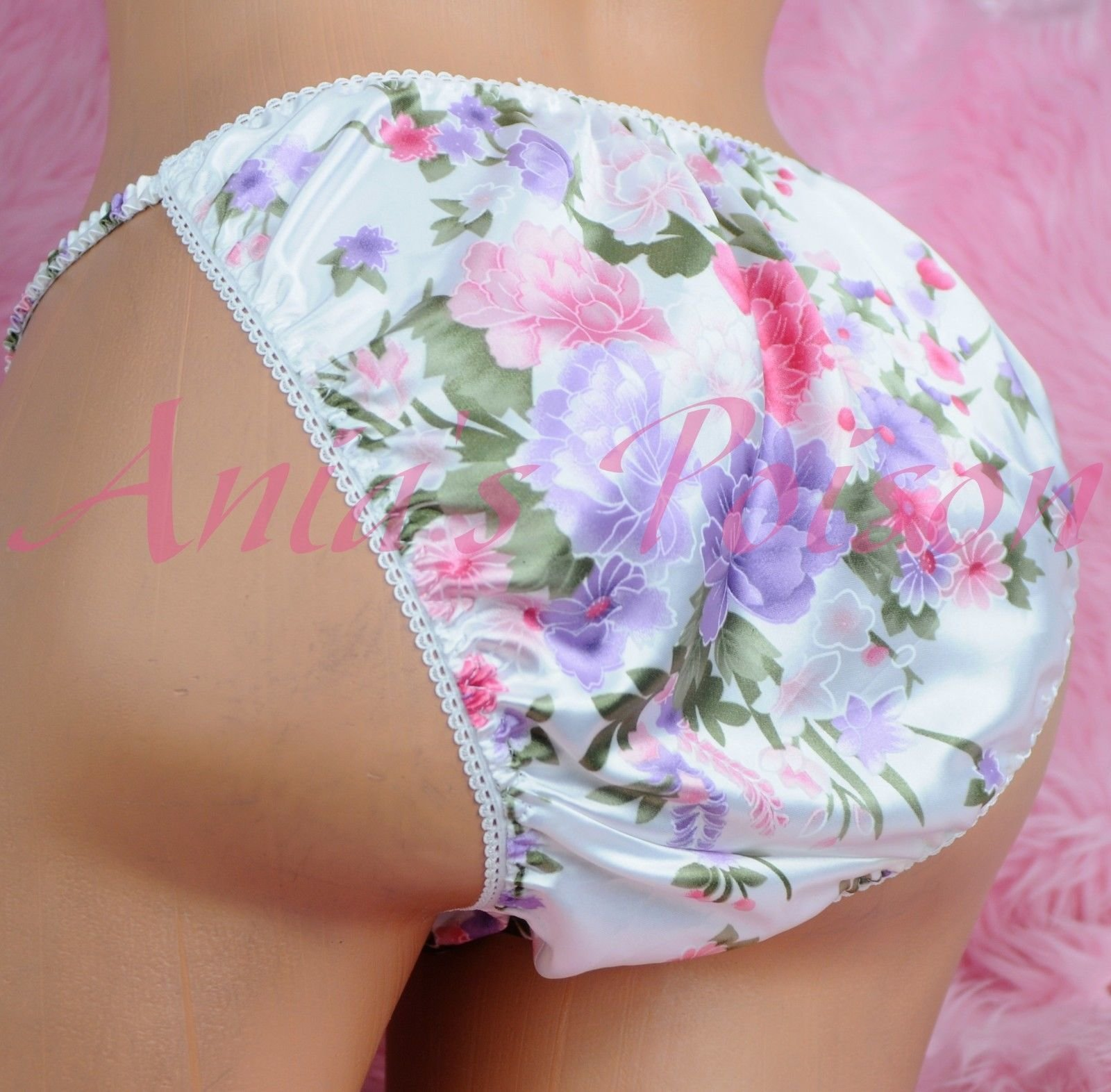 Ania's Poison MANties S - XXL Floral Asian Prints Super Rare 100% polyester string bikini sissy mens underwear panties