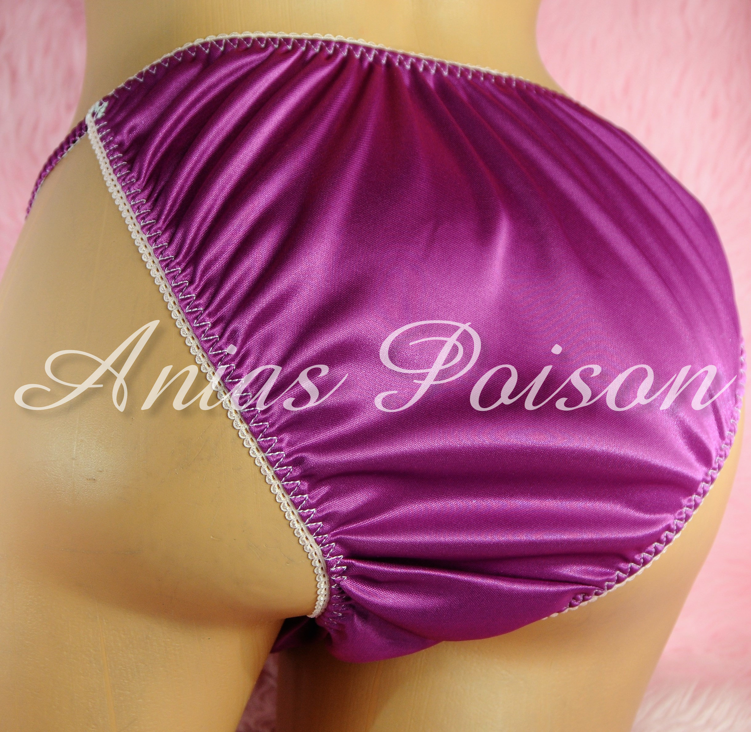 Ania's Poison MANties S - XL shiny Rare Butter Soft Collection polyester string bikini sissy mens underwear panties