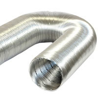 Aluminium Semi-rigid Duct (4 metre)