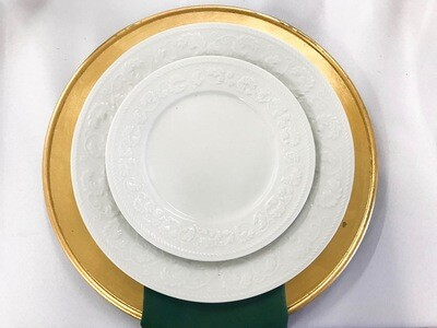 Gold- Plain Charger Plate