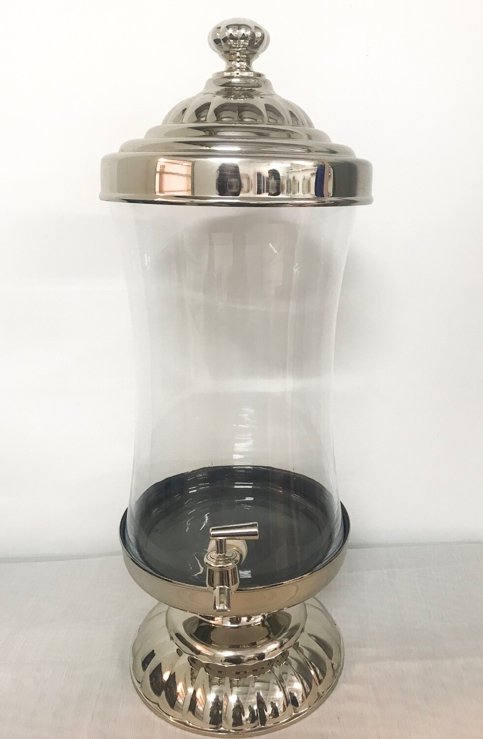 Drink Dispenser on Silver Stand