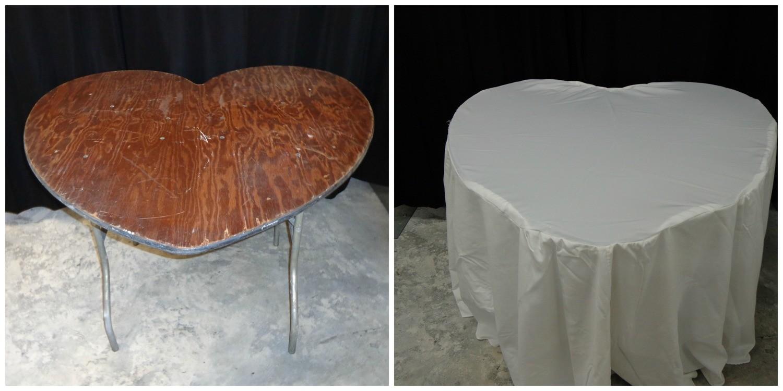 Heart Shaped Table