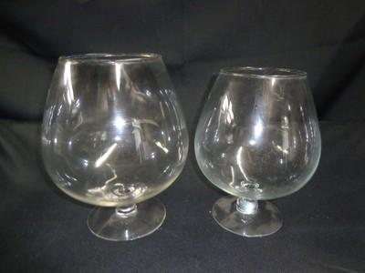 Brandy Snifter Glass Vase 10