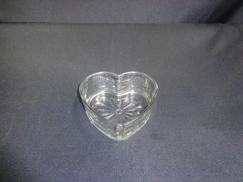 """Heart Shaped Vase 2"""" Tall"""