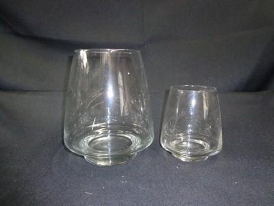 Pryamid Glass Vase 8