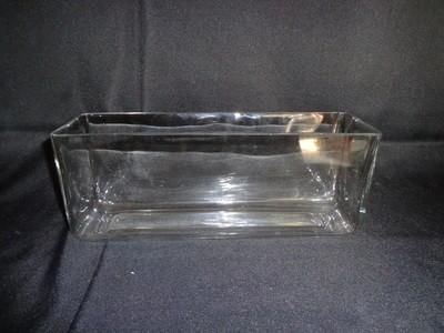 Rectangular Glass Vase 5