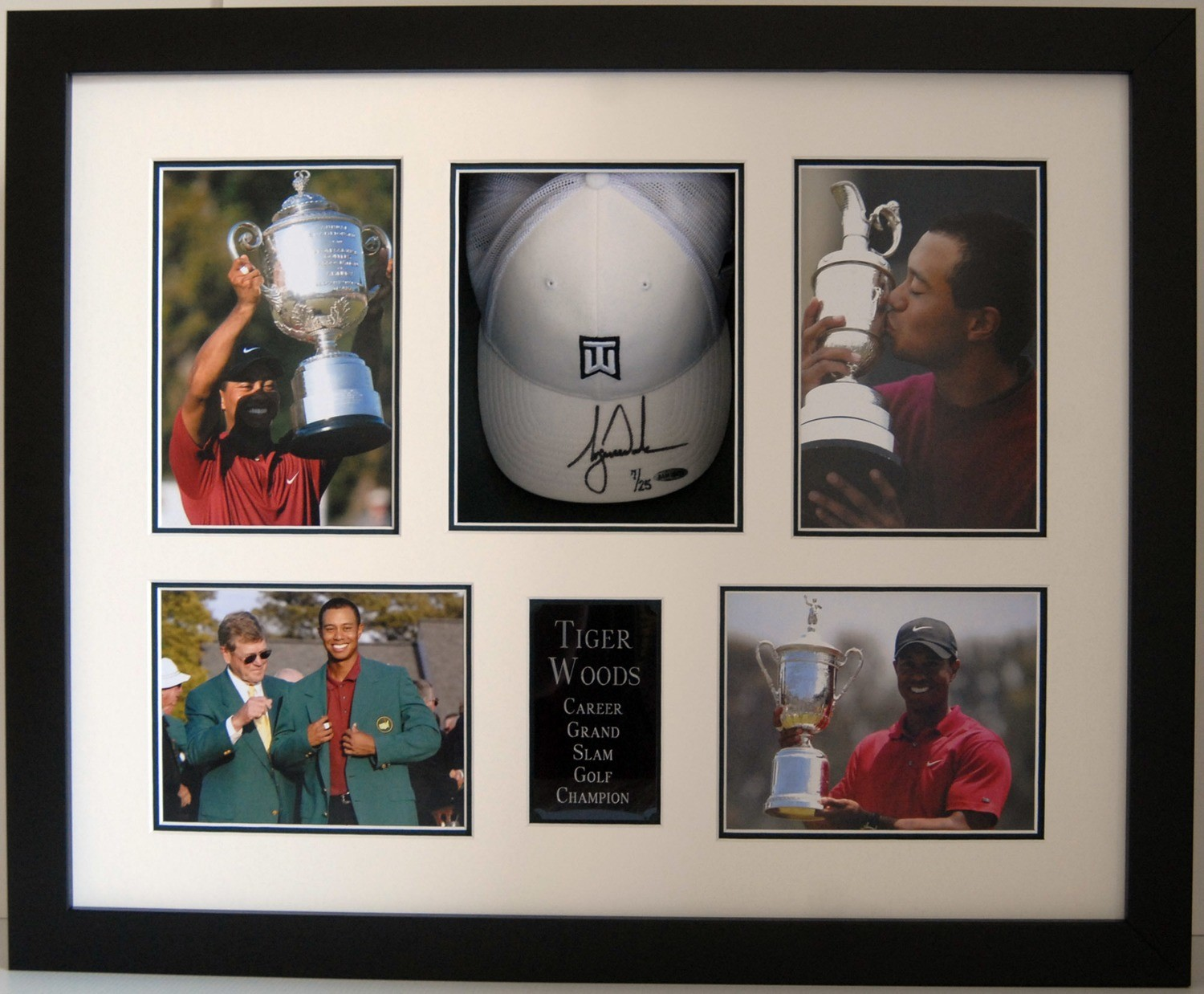 Tiger Woods Framed Display