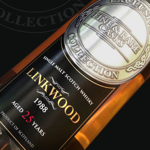 Linkwood 1988 25 Year Old Malt Whisky
