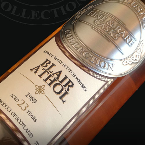 Blair Athol 1989 23 Year Old Malt Whisky