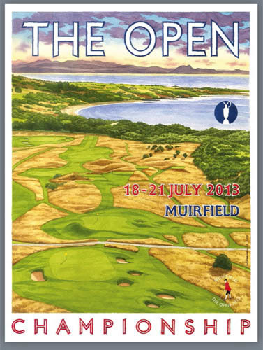 The Open Muirfield 2013