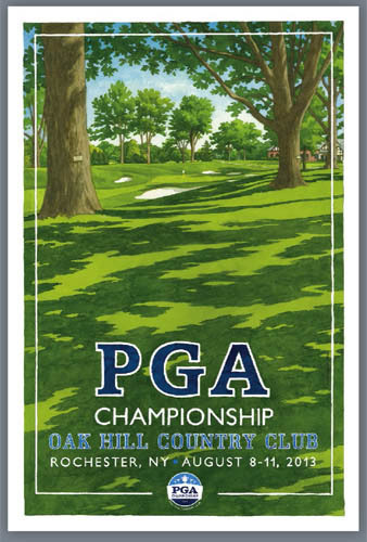 US PGA Oak Hill CC 2013