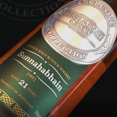 Bunnahabhain 1991 21 Year Old Malt Whisky