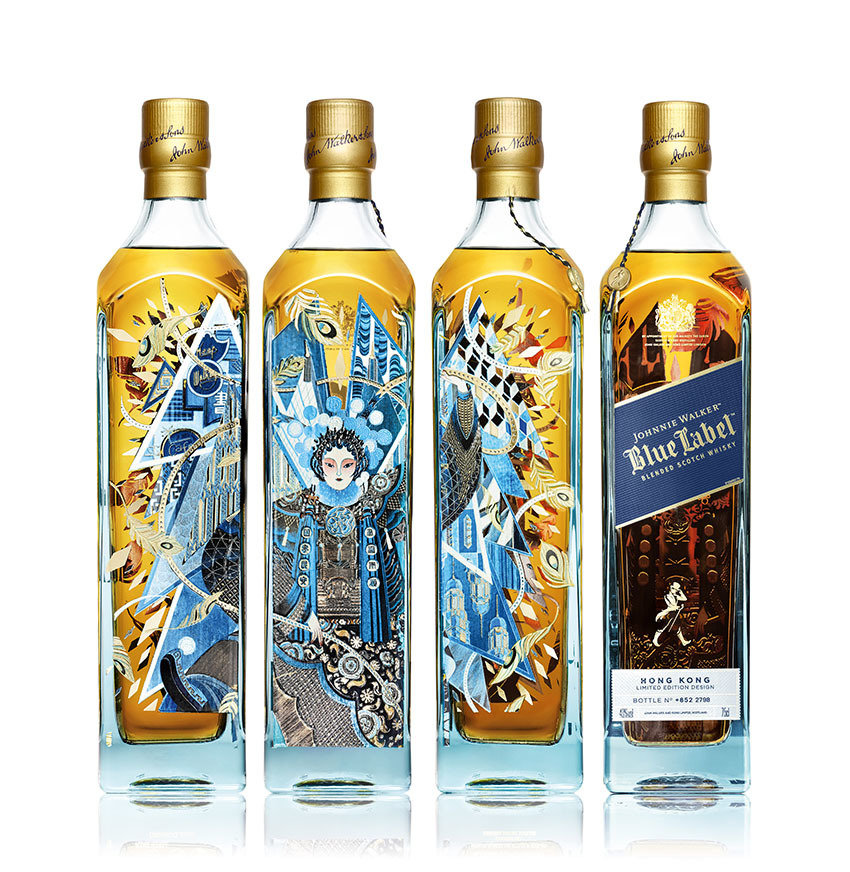 Johnnie Walker Blue Label HK Limited Edition