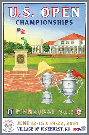 US Open Pinehurst No. 2 2014
