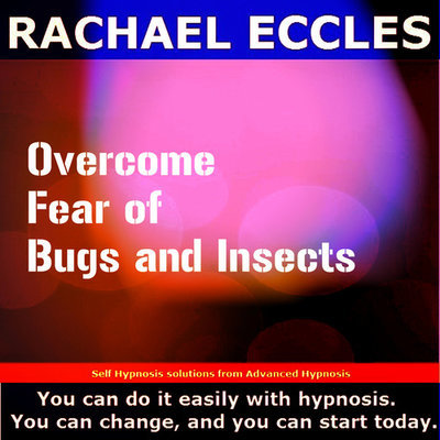 Overcome Fear of Bugs and Insects, entomophobia Hypnotherapy Self Hypnosis CD