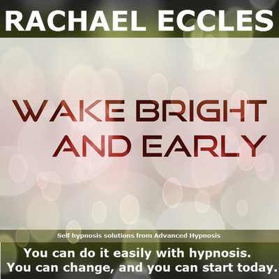 Wake Bright & Early Self Hypnosis Hypnotherapy CD