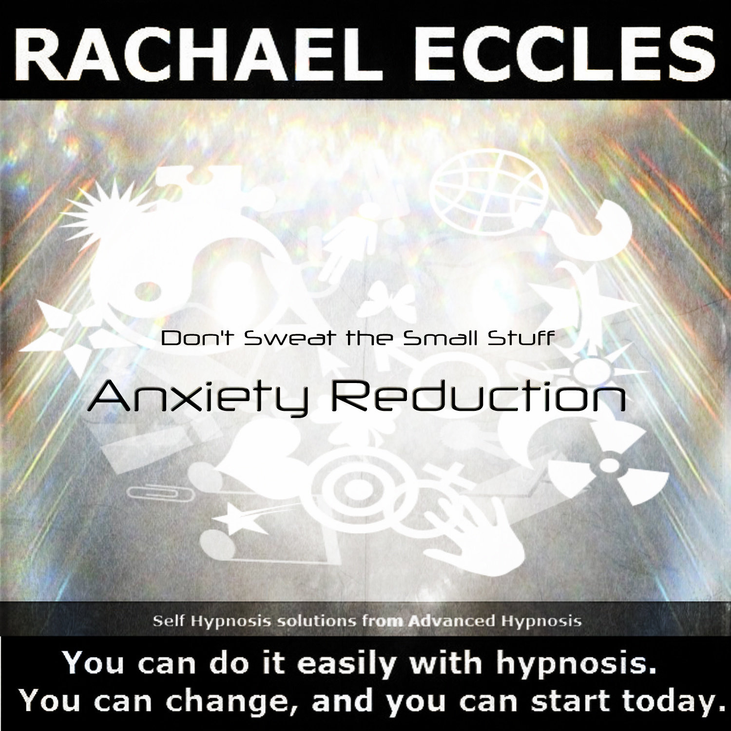 Don't Sweat The Small Stuff, 2 track Hypnotherapy Self Hypnosis CD