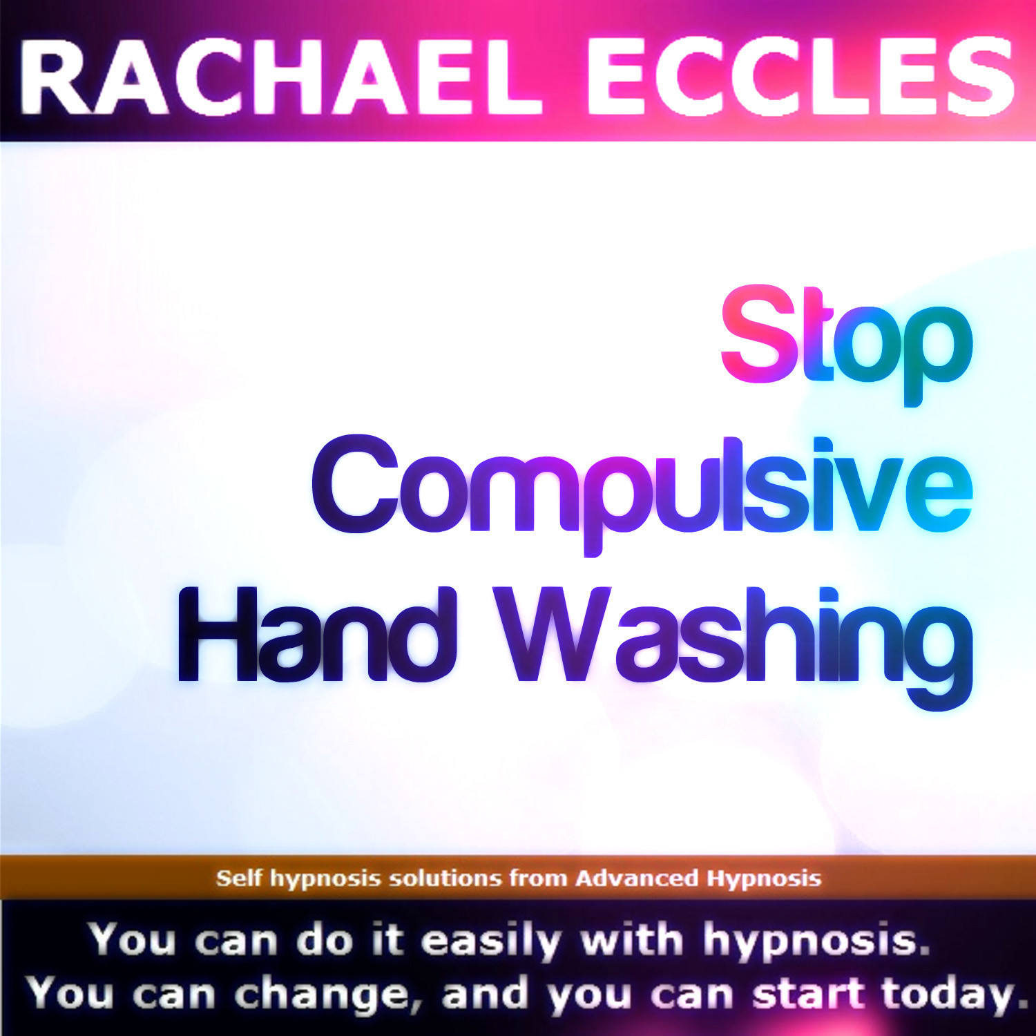 Stop compulsive hand washing, self hypnosis, hypnotherapy MP3