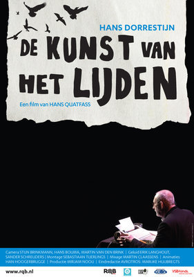 Affiche van de documentaire Hans Dorrestijn, de kunst van het lijden