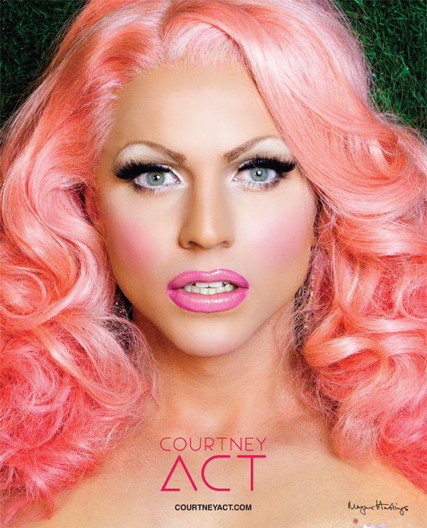 Courtney Act 8x10 Poster CA-8x10-PINK