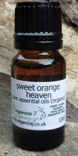 Sweet Orange Heaven Essential Oil Blend