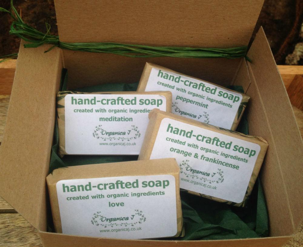 Organic Soap Gift Box - One