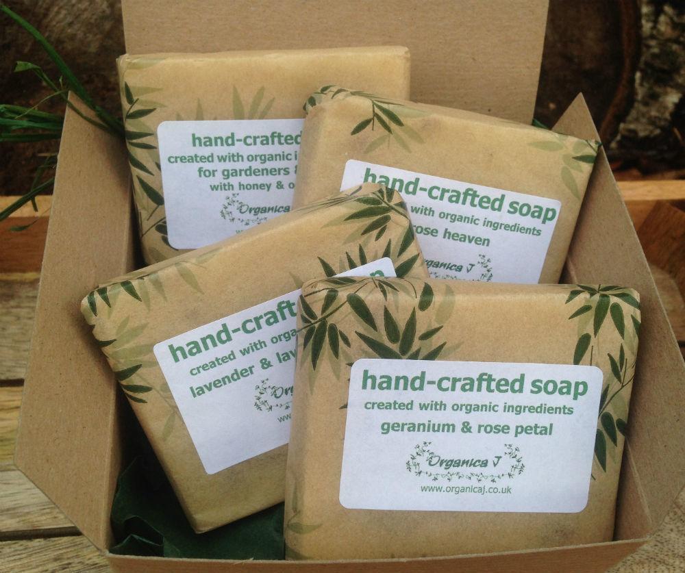 Organic Soap Gift Box - Two 0GB10