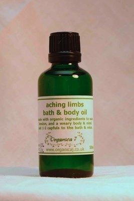 Aching Limbs Aromatherapy Bath & Body Oil