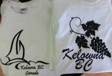 Souvenir T-Shirts - Kelowna
