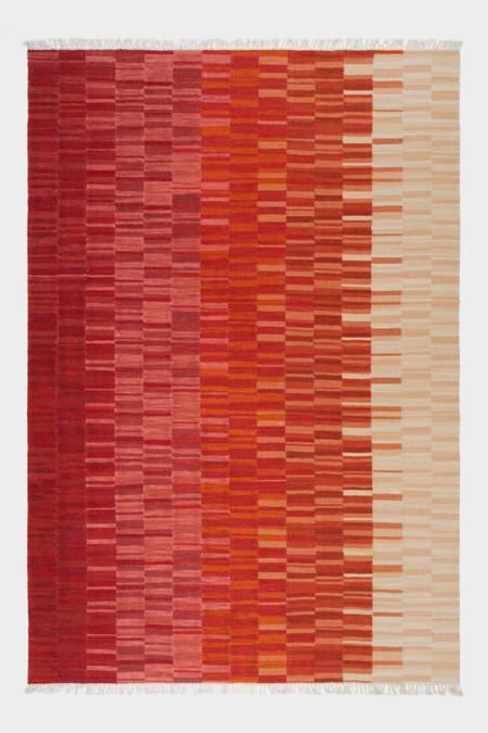 Rainbow red Kelim size 300 x 200 was £995