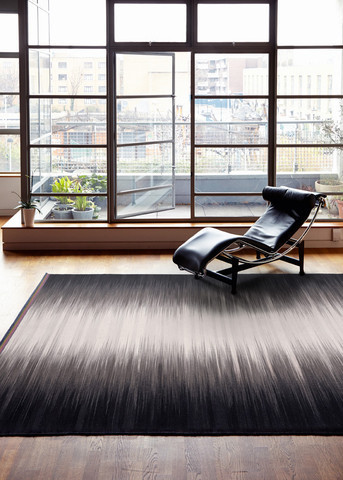 Gelim Grey & Black 240 x 170 cm