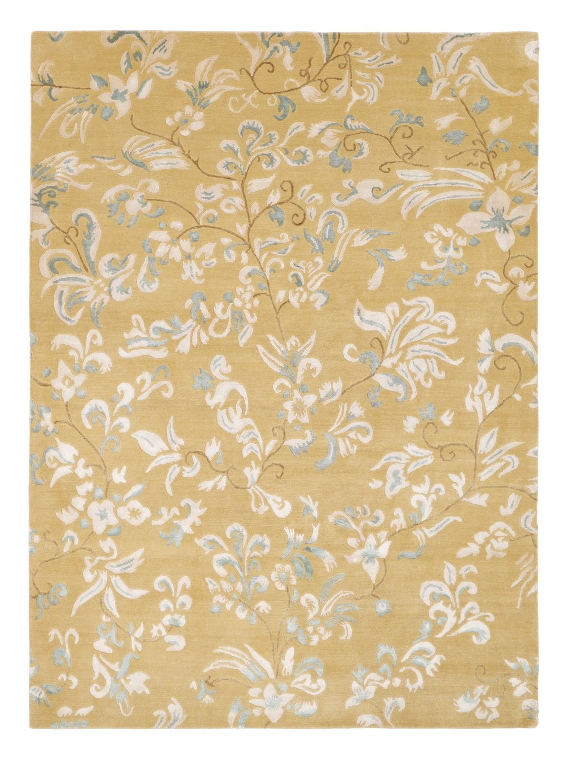 Nepalese fine floral with silk size 230 x 170 was £1995