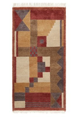 Old Nepalse wool rug size 180 x 94