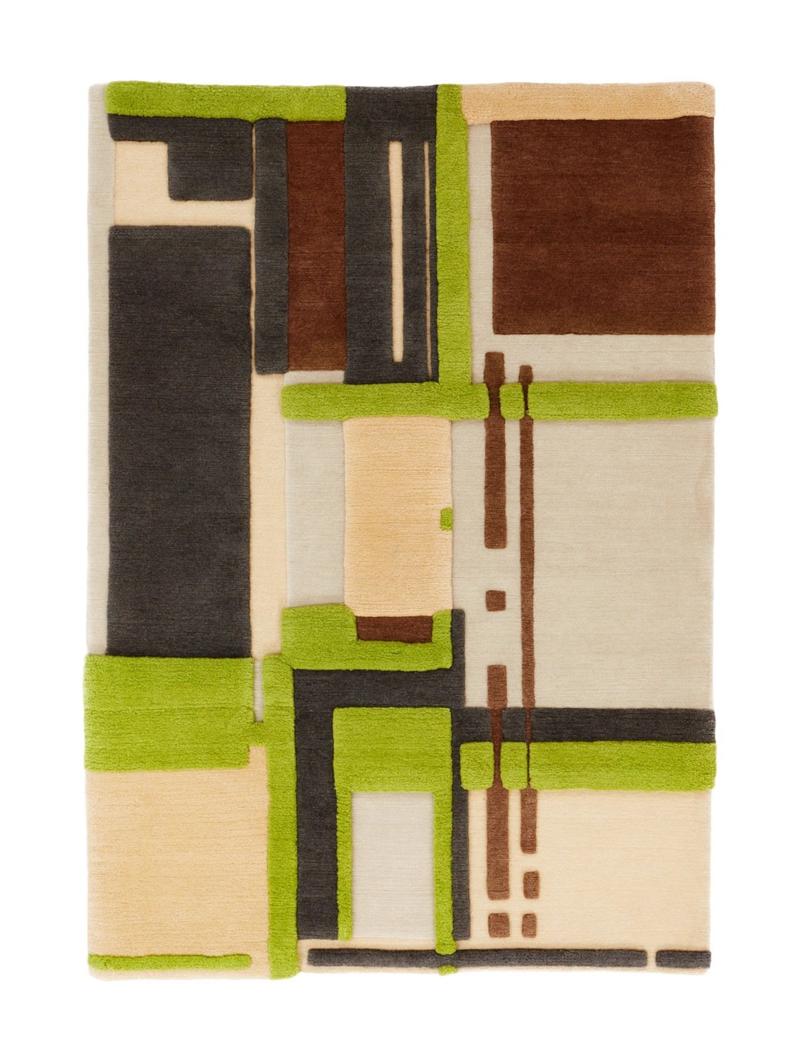 Nepalese rug  Blocks with texture size 180 X 120 was £995