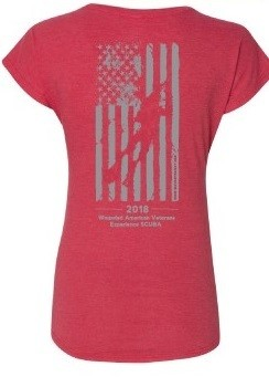 WAVES Women's Flag Shirt