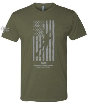 WAVES Men's Flag Shirt