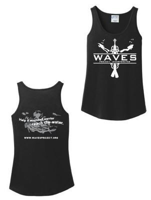 WAVES Tank Tops - Men's and Ladies