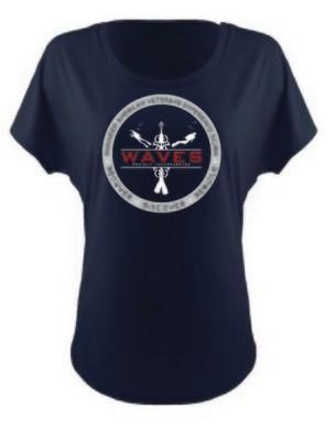 Ladies Round Logo Shirt