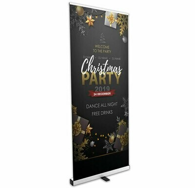 Roll Up Banner with Full Colour Graphic